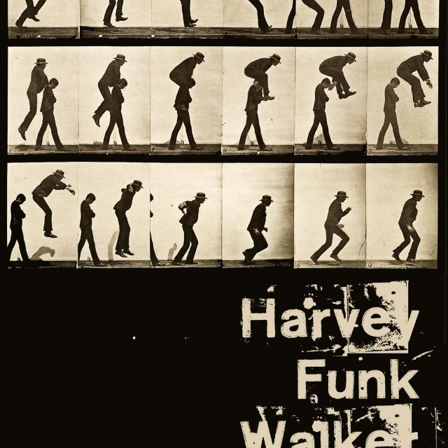 Concert poster designed by Johan Harvey