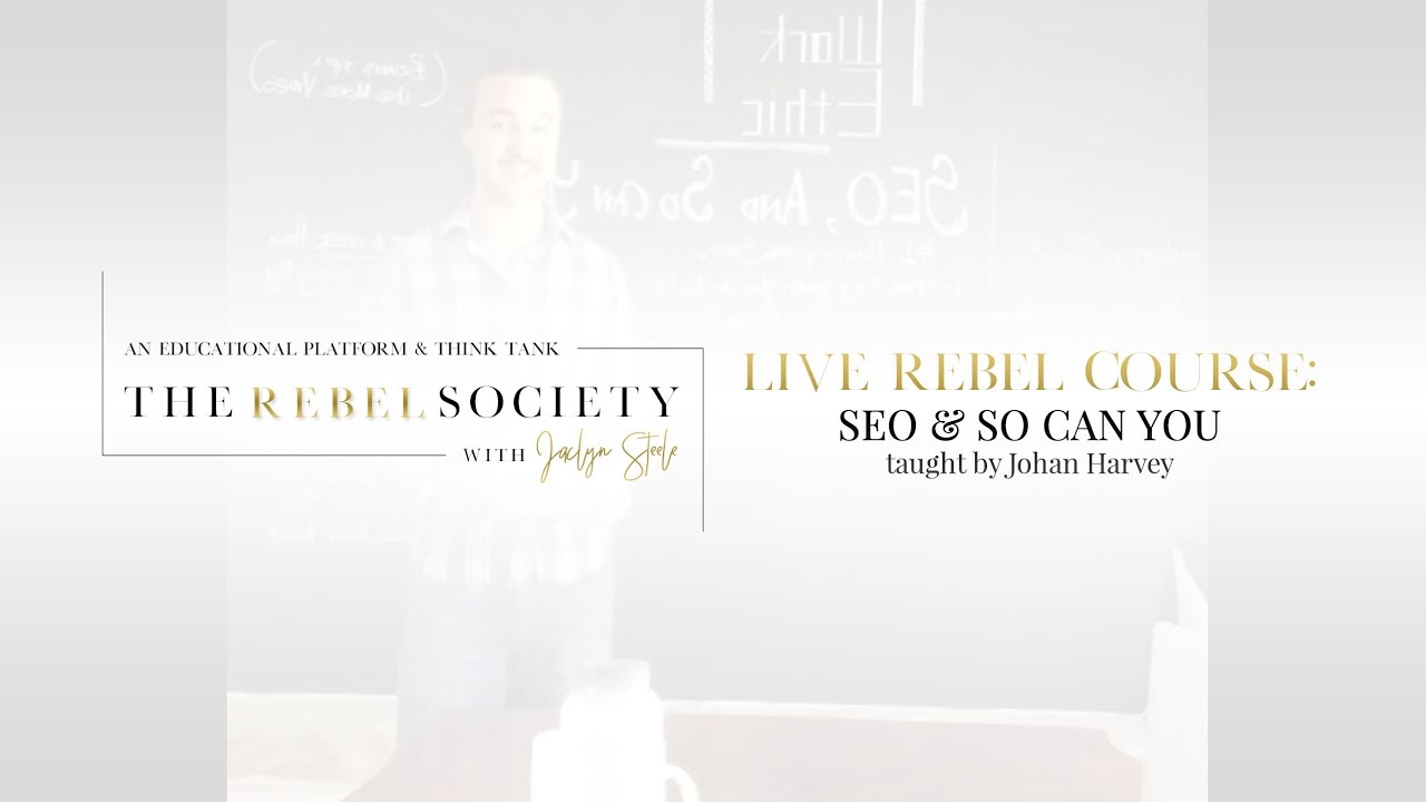 SEO And So Can You, Part 1